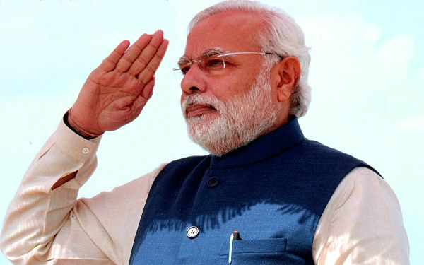 Narendra Modi Salute Success Mantra