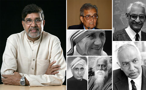 All nobel Prize Winners of India