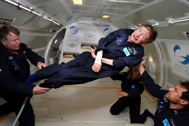 hawking's space dream