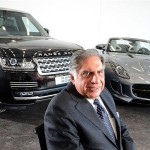ratan tata with jaguar land rovar