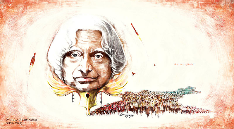 great indian Scientist Abdul Kalam