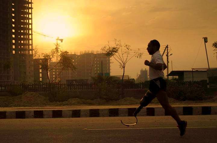 मौत से लड़कर बने मैराथन धावक – Major D. P. Singh Indian Blade Runner Motivational Story