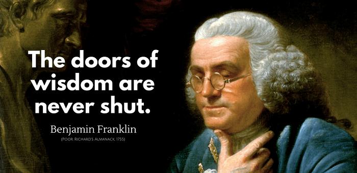 Best Quotes of Benjamin Franklin