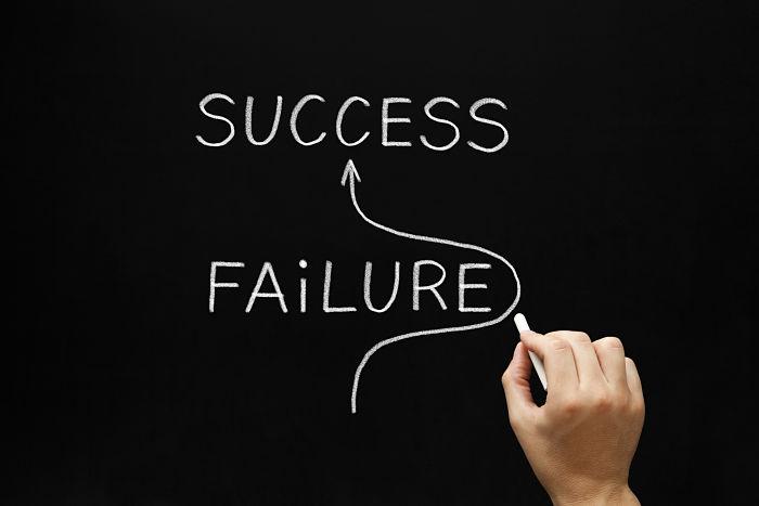 failure to success jorney