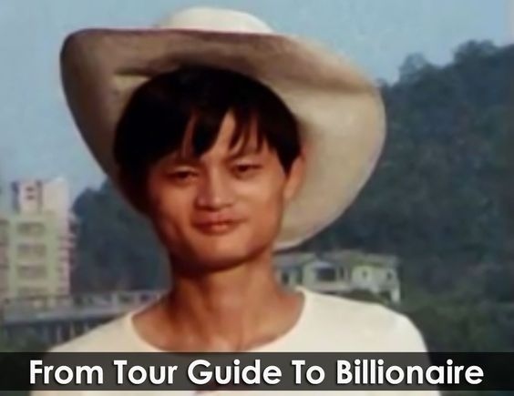 jack ma as tour guide story