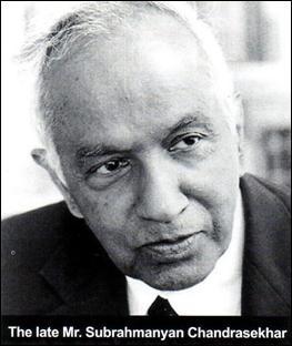 Nobel Prize Winner Indian Scientist Subrahmanyan Chandrasekhar