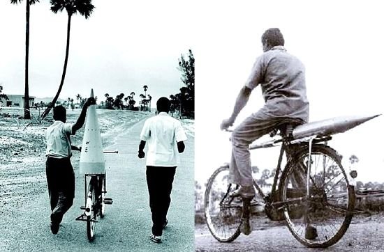 ISRO's First Rocket On Cycle