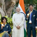 Rio Paralympic winners 2016 with PM