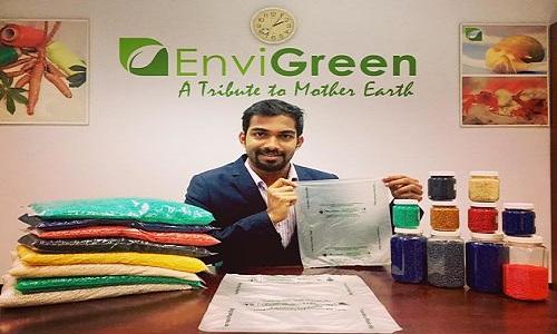 इस भारतीय ने बनाया प्लास्टिक की थैलियों का विकल्प जिसे आप खा भी सकते हैं