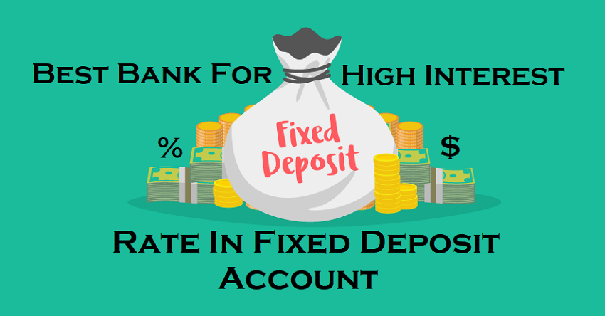 Best Banks for Fixed Deposit