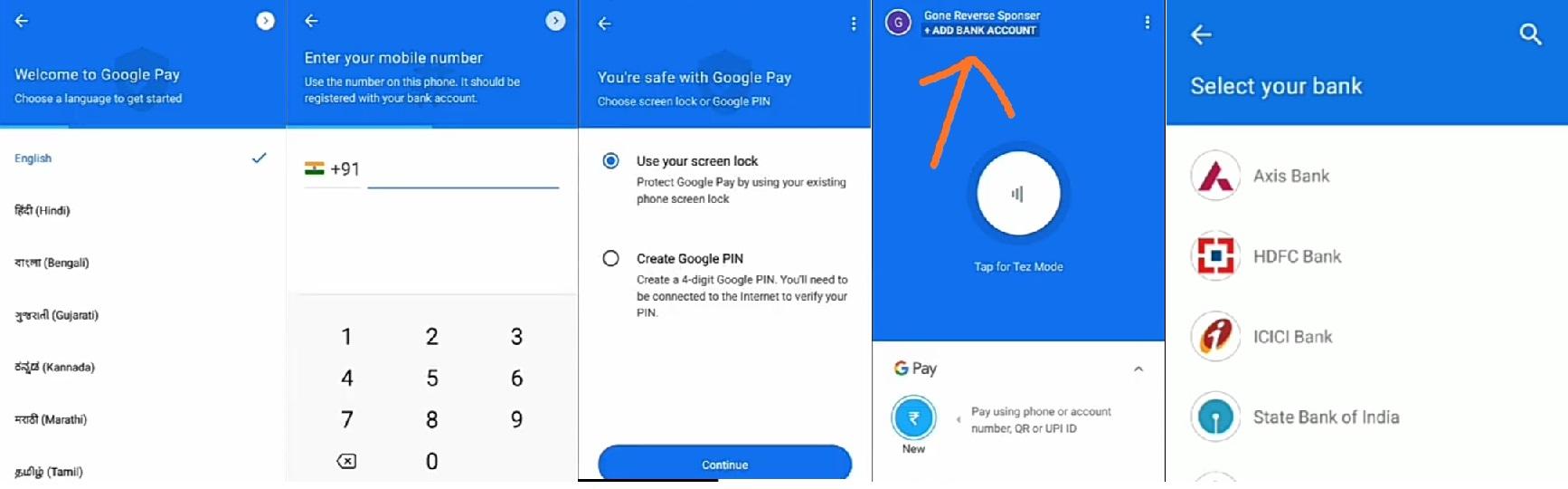Google Pay से पैसे कमाए