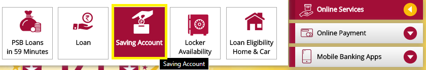 Online Open PNB Account
