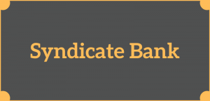 Syndicate Bank Balance Check