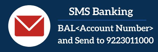 Bandhan Bank SMS Banking