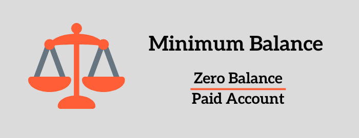 Bank of Baroda Minimum Balance