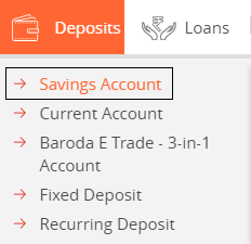Deposits to Saving Account