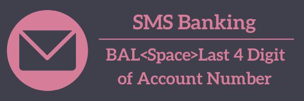 IDFC Bank Balance SMS Banking