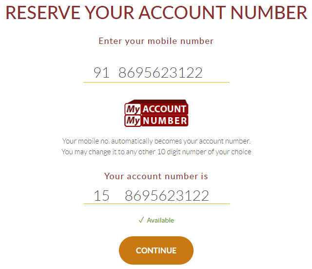 Reserve Your Indusind Account Number
