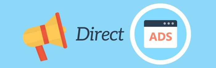 Direct Display Ads