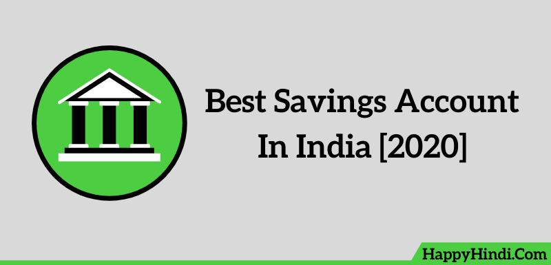 Best Savings Account