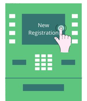 Click on New Registration