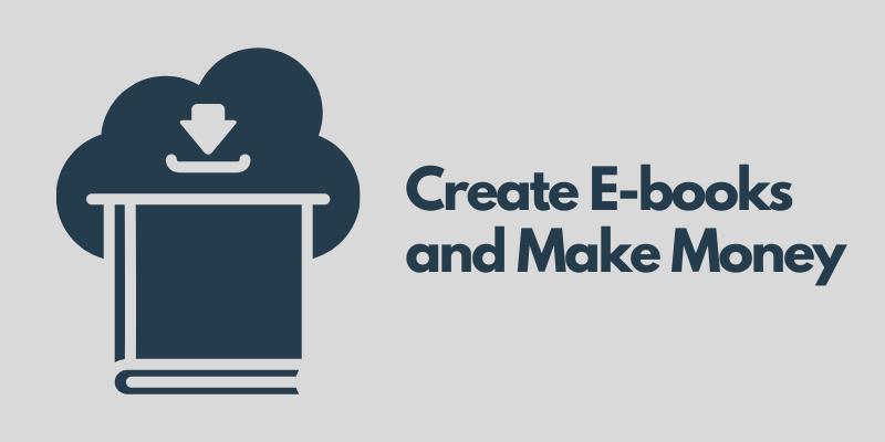 Make Money From E Books