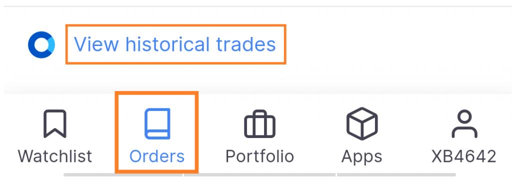 Zerodha Tradebook