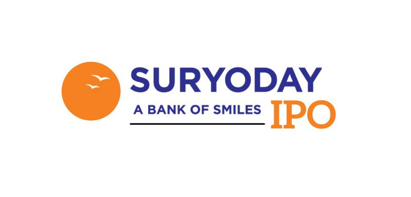 suryoday sfb ipo Details